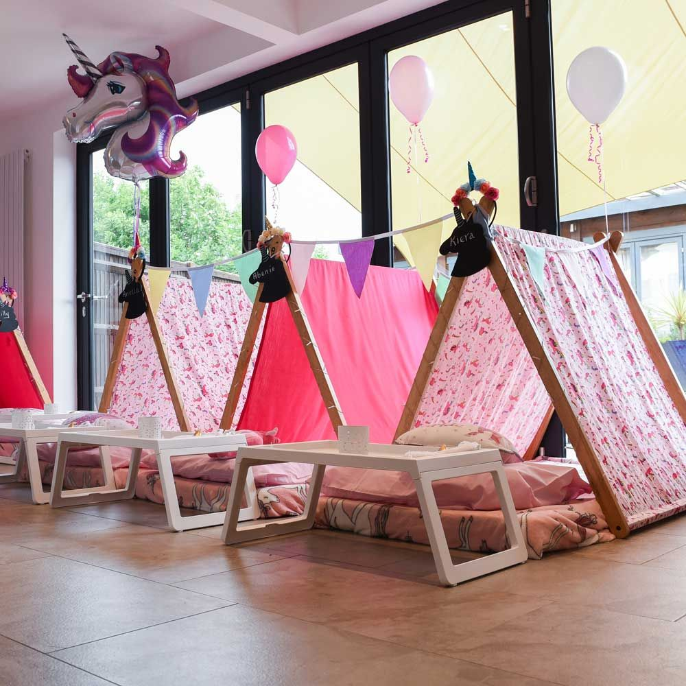 quality design 6b613 35d26 Home | Wide Range of Themed Sleepover Parties for Children